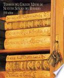 Libro de Tesoros Del Colegio Mayor De Nuestra Señora Del Rosario