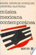Libro de Música Mexicana Contemporánea