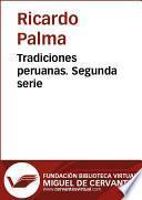 Libro de Tradiciones Peruanas Ii