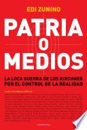 Libro de Patria O Medios