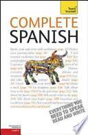 Libro de Complete Spanish: A Teach Yourself Guide