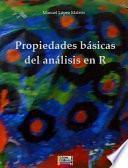 Libro de Propiedades Básicas Del Análisis En R