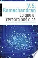 Libro de Lo Que El Cerebro Nos Dice