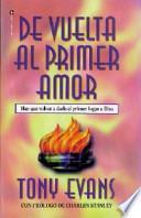 Libro de De Vuelta Al Primer Amor