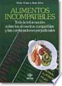 Libro de Alimentos Incompatibles