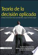 Libro de Teoría De La Decisión Aplicada