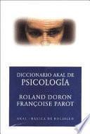 Libro de Diccionario Akal De Psicología