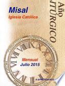 Libro de Misal Julio 2015