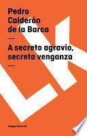 Libro de A Secreto Agravio, Secreta Venganza
