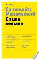 Libro de Community Management En Una Semana