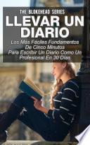 Libro de Llevar Un Diario