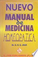 Libro de Nuevo Manual De Medicina Homeopatica