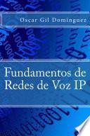 Libro de Fundamentos De Redes De Voz Ip