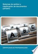 Libro de Uf0347   Sistemas De Archivo Y Clasificación De Documentos