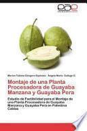 Libro de Montaje De Una Planta Procesadora De Guayaba Manzana Y Guayaba Pera