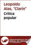 Libro de Crítica Popular