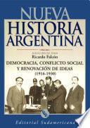 Libro de Democracia, Conflicto Social Y Renovador De Ideas 1916 1930