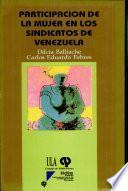 Libro de Participación De La Mujer En Los Sindicatos De Venezuela