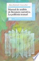 Libro de Manual De Análisis De Literatura Narrativa