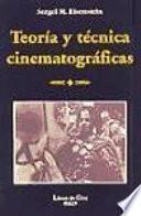 Libro de Teoría Y Técnica Cinematográficas