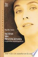 Libro de Notas Sin Pentagrama / Notes Without A Stave