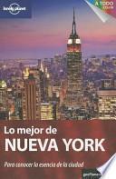 Libro de Lo Mejor De Nueva York 1