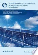 Libro de Replanteo Y Funcionamiento De Instalaciones Solares Fotovoltáicas. Enae0108
