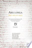 Libro de Ars Longa I