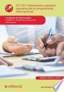 Libro de Información Y Gestión Operativa De La Compraventa Internacional. Comm0110