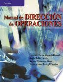 Libro de Manual De Dirección De Operaciones