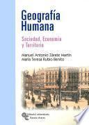 Libro de Geografía Humana