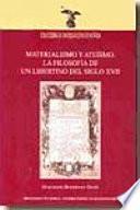 Libro de Materialismo Y Ateísmo