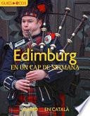 Libro de Edimburg. En Un Cap De Setmana