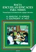 Libro de Hacia Escuelas Eficaces Para Todos