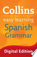 Libro de Easy Learning Spanish Grammar (collins Easy Learning Spanish)