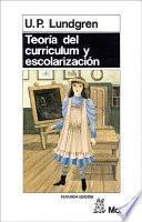 Libro de Teoría Del Curriculum Y Escolarización