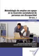 Libro de Mf1036_3   Metodología De Empleo Con Apoyo En La Inserción Sociolaboral De Personas Con Discapacidad