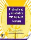 Libro de Probabilidad Y Estadística Para Ingeniería Y Ciencias