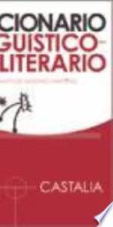 Libro de Diccionario Lingüístico Literario