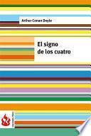 Libro de El Signo De Los Cuatro (low Cost). Edición Limitada