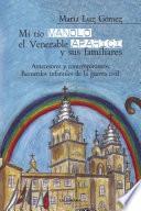 Libro de Mi Tío Manolo, El Venerable Aparici Y Sus Familiares