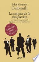 Libro de La Cultura De La Satisfacción