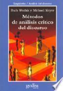 Libro de Métodos De Análisis Crítico Del Discurso