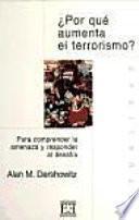 Libro de ¿por Qué Aumenta El Terrorismo?