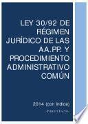Libro de Ley Del Régimen Jurídico De Las Administraciones Públicas Y Del Procedimiento Administrativo Común