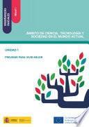 Libro de Enseñanzas Iniciales: Nivel I. Ámbito De Ciencia, Tecnología Y Sociedad En El Mundo Actual. Unidad 1. Prevenir Para Vivir Mejor