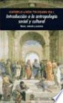 Libro de Introduccion A La Antropología Social Y Cultural