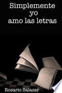 Libro de Simplemente Yo Amo Las Letras