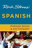 Libro de Rick Steves  Spanish Phrase Book And Dictionary
