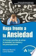 Libro de Haga Frente A La Ansiedad